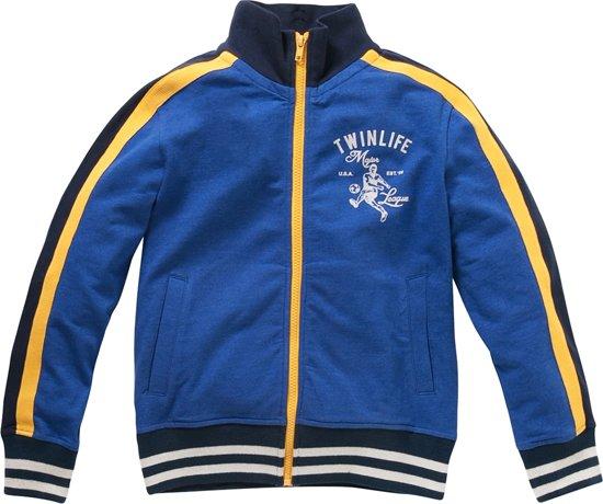 Twinlife Sportief vest  Blauw - 140