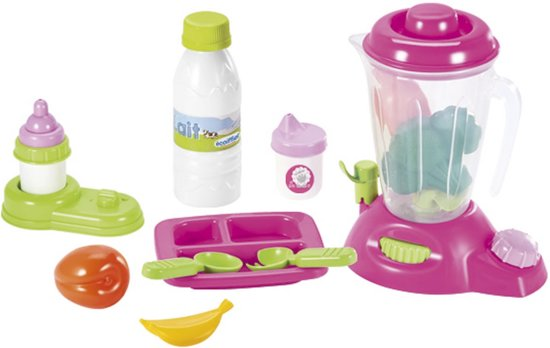 Ecoiffier Verzorging - Baby's Voedingsset