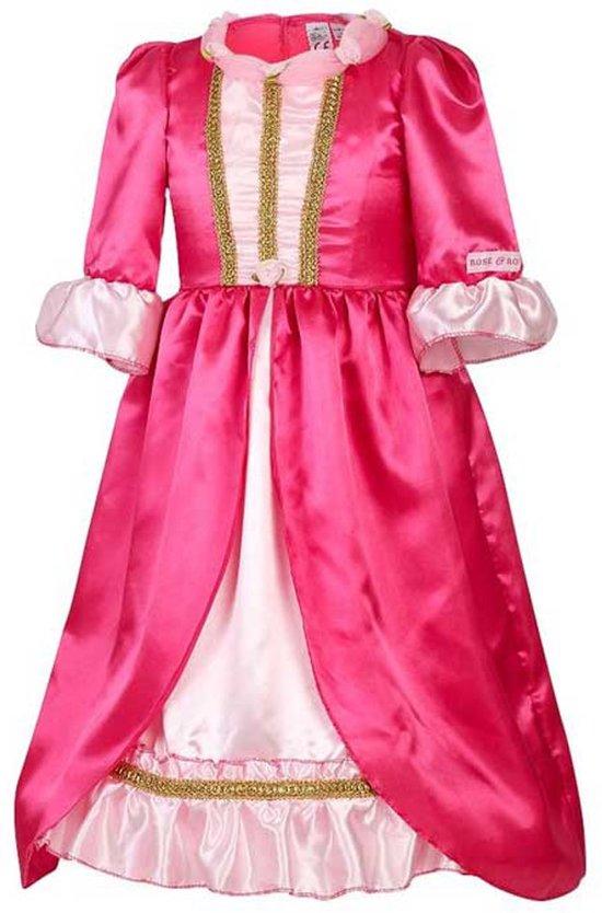 Rose & Romeo Jurk Marilyn Roze (5-7 jaar - 110/122))