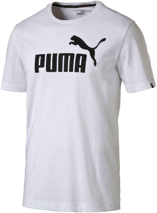 Puma Ess. No.1 Tee T-shirt Heren Sportshirt - Maat M -