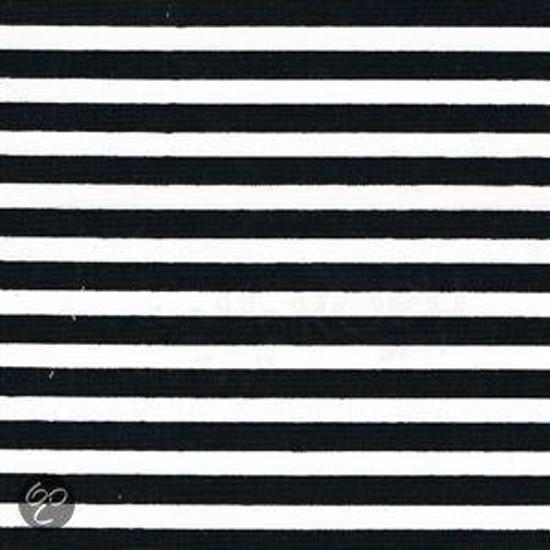 Hoeslaken Zwart Wit.Bol Com Damai Streep Hoeslaken Zwart 1 Persoons 90x200 Cm