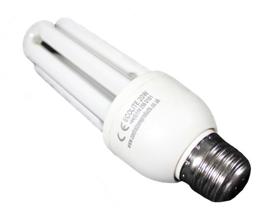 EcoLite bulb 20W as equipment for the insect killer FliBlade FB000002 + FB000004