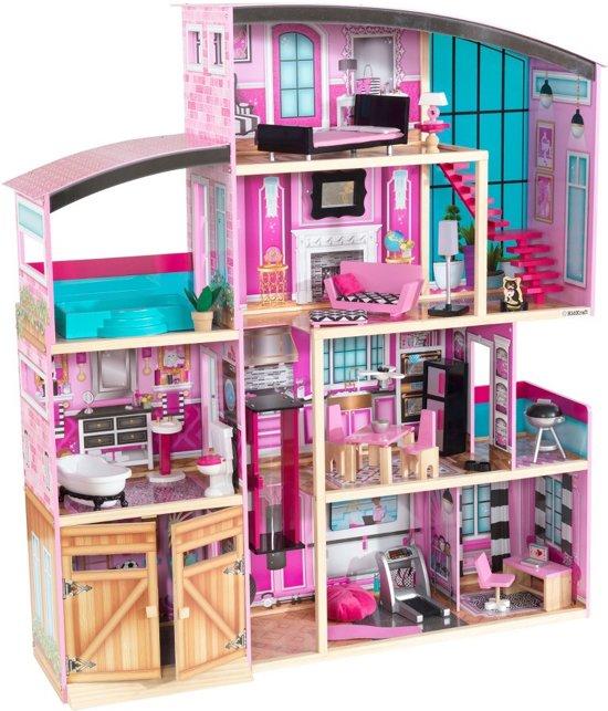 bol.com   Kidkraft Poppenhuis Shimmer Mansion, KidKraft   Speelgoed