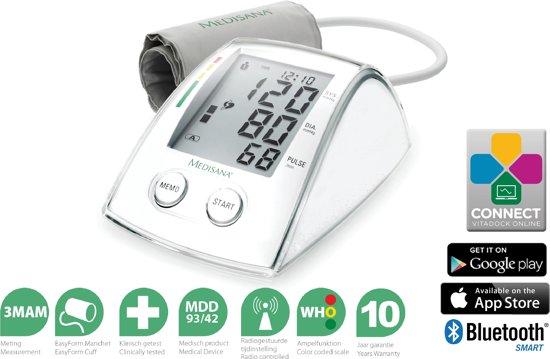 Medisana MTX connect bovenarm bloeddrukmeter