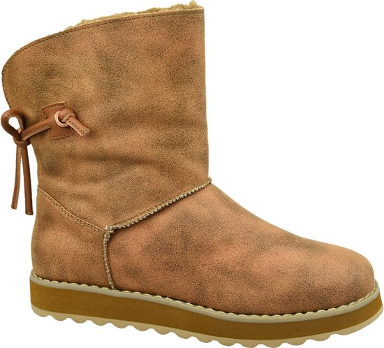 Skechers Keepsakes 2.0 Hearth bruin winterlaarzen dames