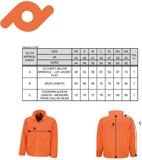 Microfleece Vest Kleur Thermisch L Basic Senvi Fleece Laag Wit Maat wTBERcXq