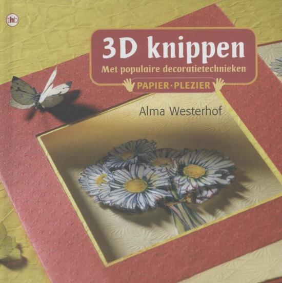 Papier plezier - 3D knippen - Alma Westerhof  