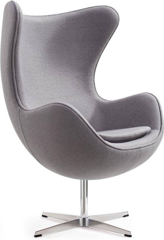 Egg Chair Stof.Bol Com Egg Chair Grijs