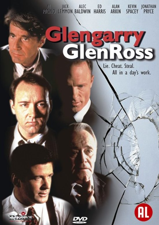 DVD cover van Glengary Glenross