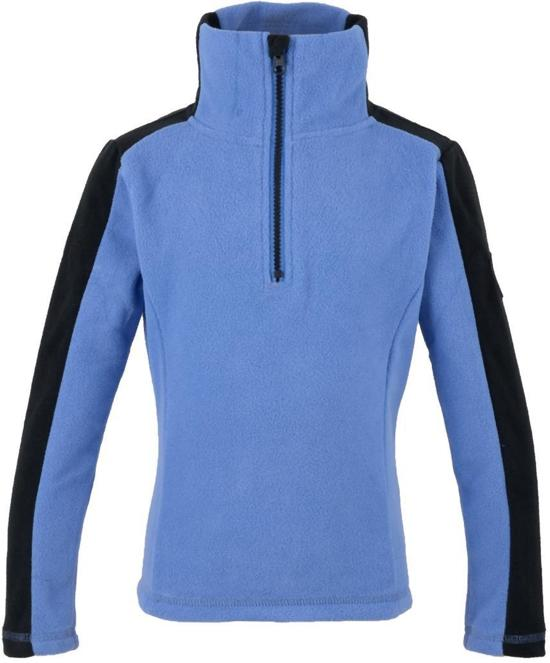 Yep yep Basic Fleece - Sweater - Unisex - Maat 128 - Paars/Zwart