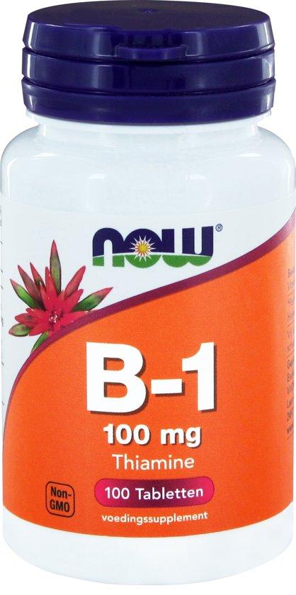 VitOrtho Now B-1 100 mg tabletten 100 st