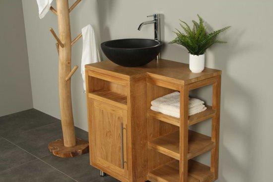 Bol badkamermeubel kerinci cabinet volledig teak cm deur