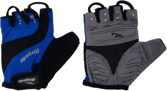 Rogelli Phoenix - Fietshandschoenen - Unisex - Blauw/Zwart/Grijs - Maat M