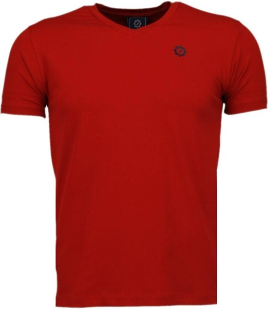 Local Fanatic Basic Exclusieve - T-Shirt - Rood