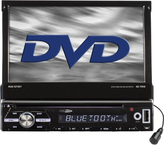 Caliber RDD571BT - Autoradio -  FM radio - Bluetooth - Klapscherm -Zwart