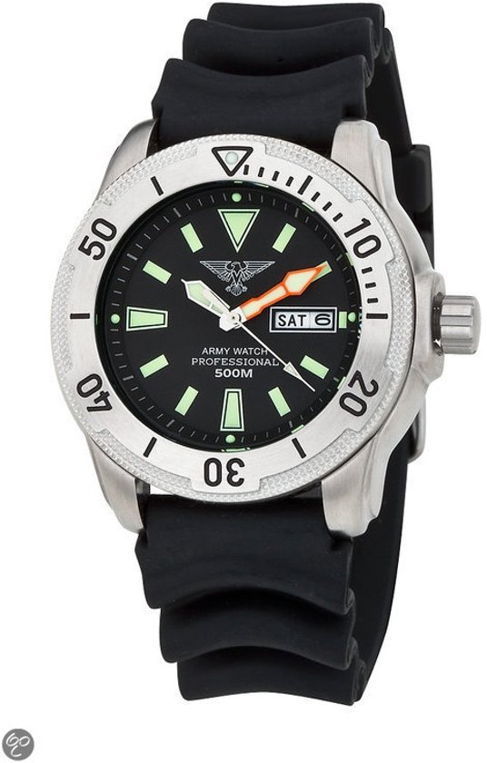 Eichmuller Army Ep860 - Horloge - 45 mm