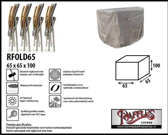 Hoes voor klapstoelen 65 x 65 H: 100 cm