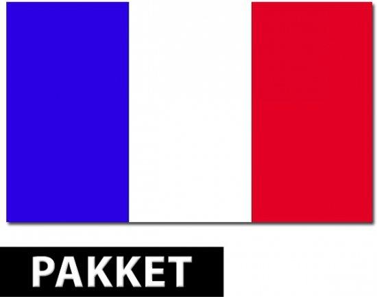 Frankrijk versiering pakket