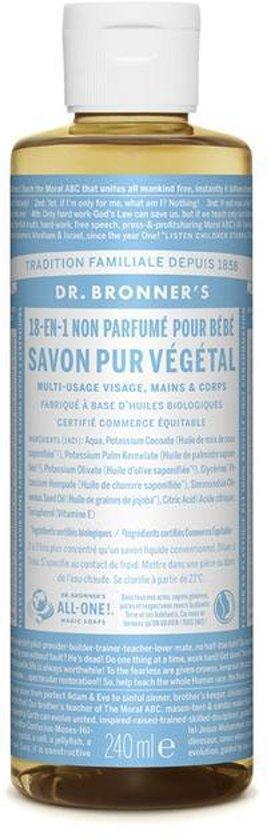 Dr Bronners Baby-Mild vloeibare zeep 240 ml