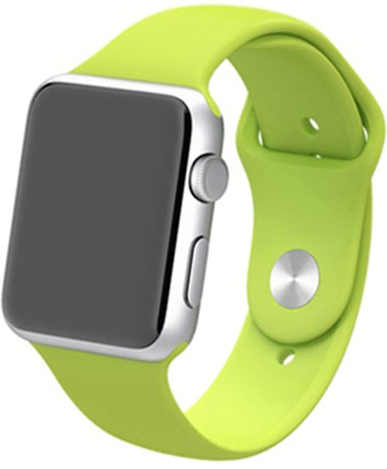 watchbands-shop.nl bandje - Apple Watch Series 1/2/3/4 (42&44mm) - Groen