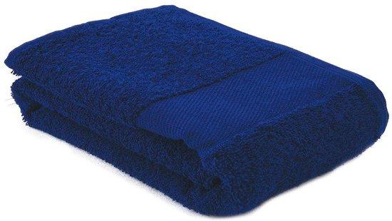 Arowell Sporthanddoek Fitness Handdoek 130 x 30 cm - 500 Gram - Donkerblauw - 3 stuks