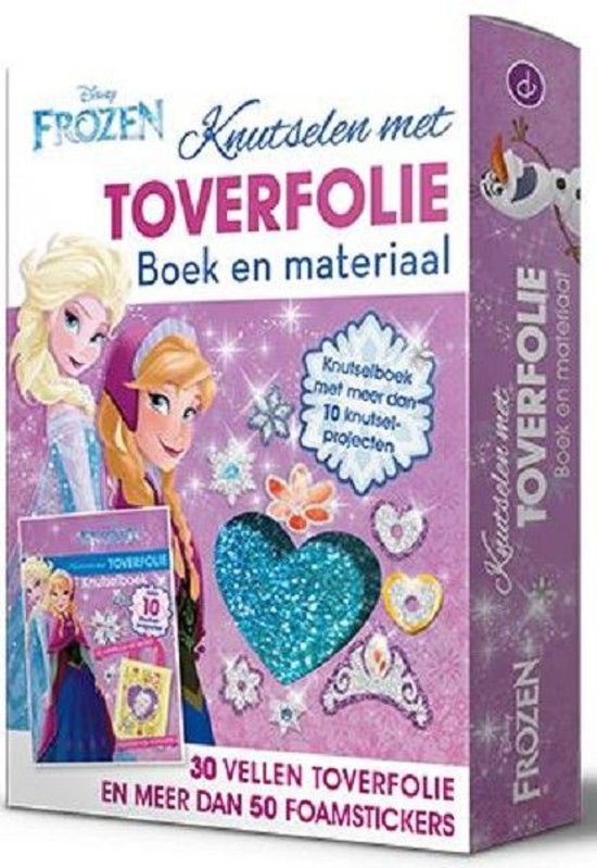 Bolcom Disney Frozen Knutsel Toverfolie Speelgoed