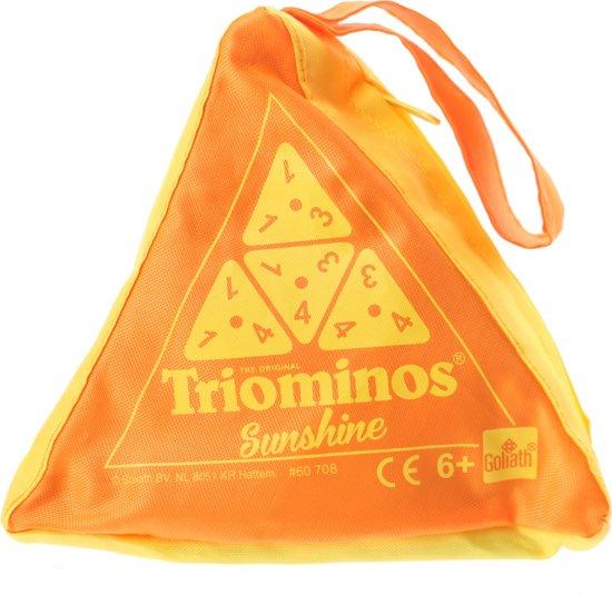 Goliath Triominos Sunshine Oranje 24 Stenen