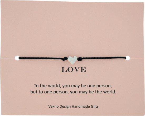 Design armband Love - liefde - hartje