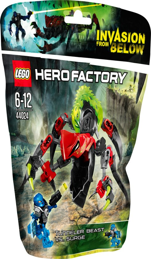 LEGO Hero Factory TUNNELBEEST vs. SURGE - 44024