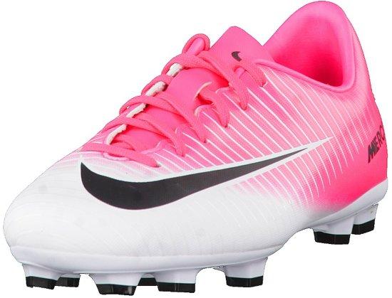 buy popular 9d0e8 61e0a Nike Mercurial Victory VI FG Voetbalschoenen - Maat 32 - Jongens - rozewit