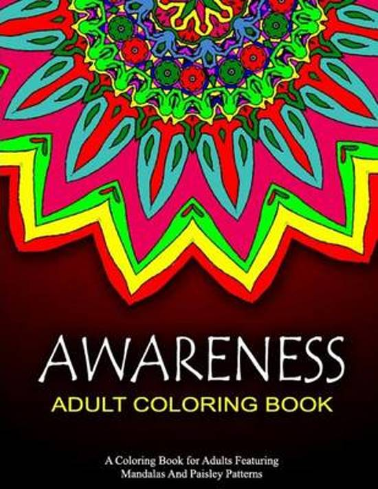 Awareness Adult Coloring Book - Vol.6