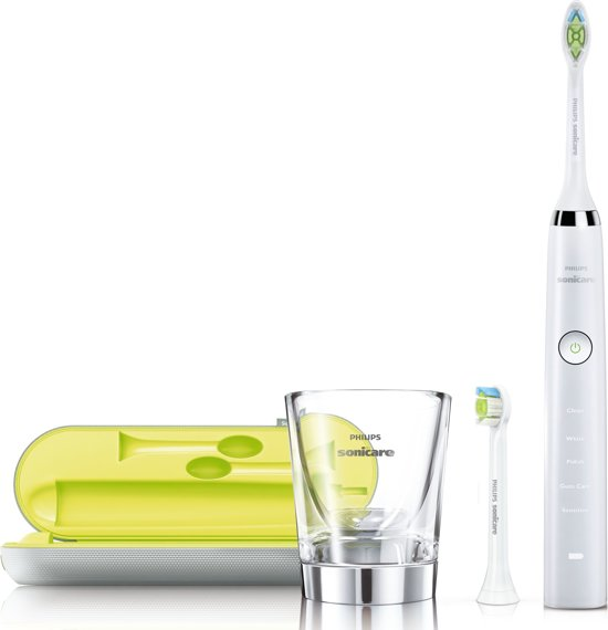 Philips Sonicare White Diamond Clean HX9332/04 - Elektrische tandenborstel - Wit