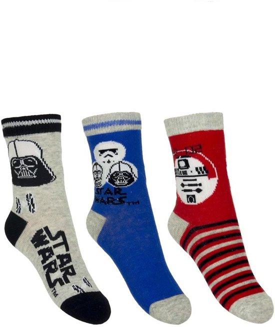 3 paar sokken van StarWars maat 27-30