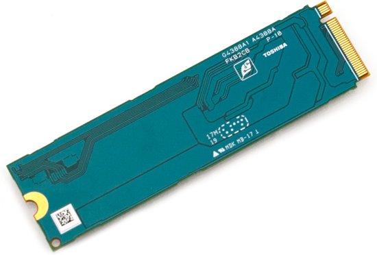 Toshiba XG5 1 TB Single Sided NVMe M.2 SSD