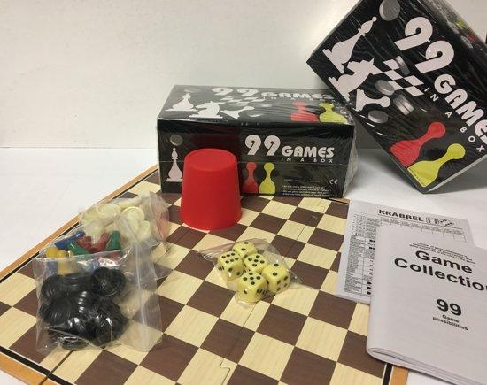 SpellenSet. 99 spellen in 1 blik  Gezelschapsspellen