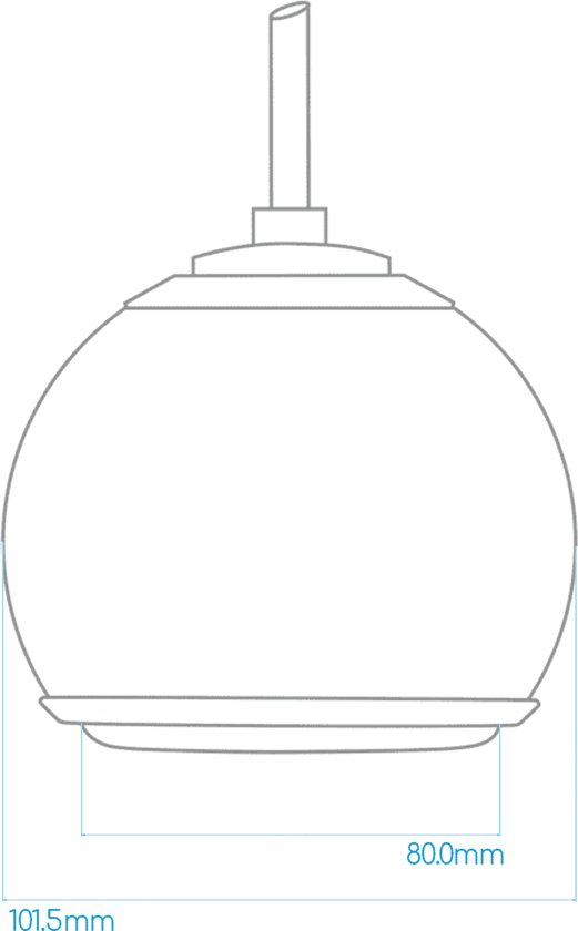 Gallo Acoustics Micro SE Droplet - Hangende Speaker - Mat Wit