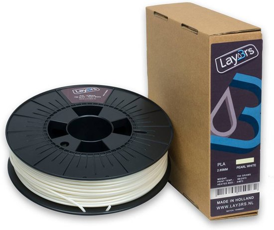 Lay3rs PLA Pearl white - 2.85 mm