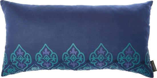 Bol.com riverdale paisley kussen 30x60cm blauw