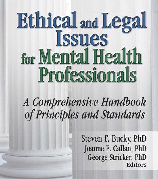 should mental health professionals serve as