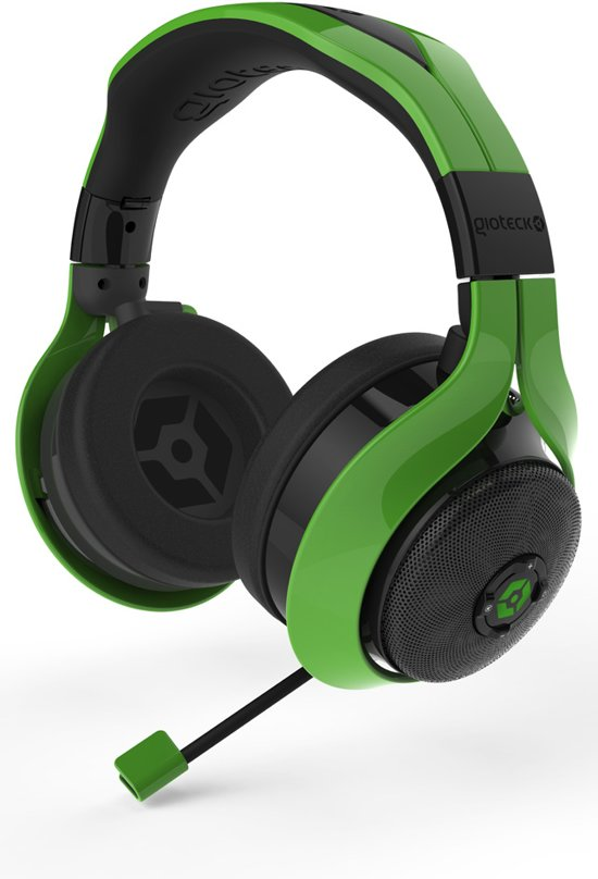 gioteck fl 300 stereo headset bluetooth groen pc mac ps4 xbox one gioteck. Black Bedroom Furniture Sets. Home Design Ideas