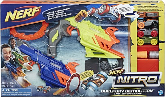 Nerf Nitro Duelfury Demolition Speelset