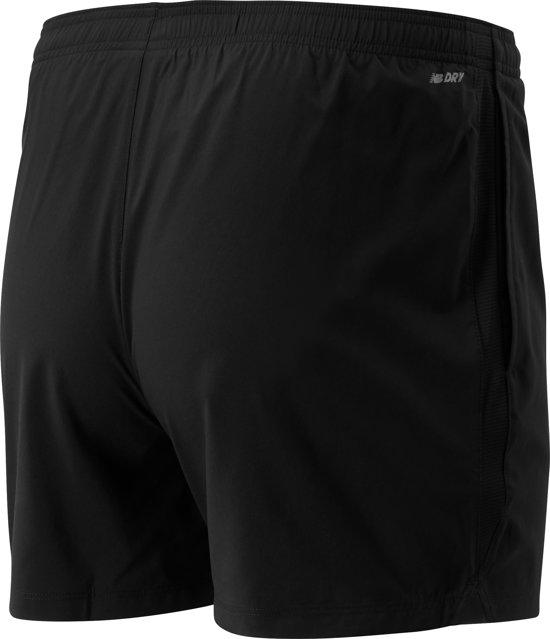 New Balance ACCELERATE 5IN SHORT Heren Sportbroek - Black - XL