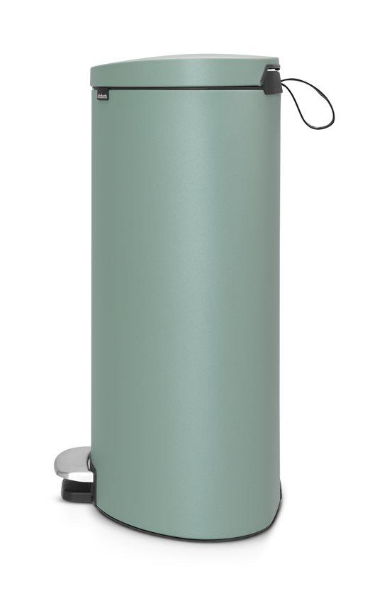 Brabantia Pedaalemmer FlatBack 40 Liter Mineral Mint