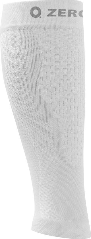 ZeroPoint compressie calf sleeves Wit - M