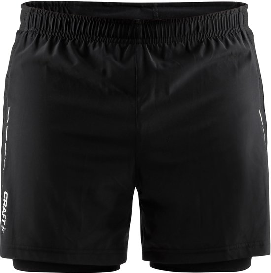 CRAFT Hardloopbroek Essential 2 - Sportbroek - Heren - Black