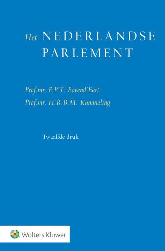 Het Nederlandse parlement - P.P.T. Bovend'Eert