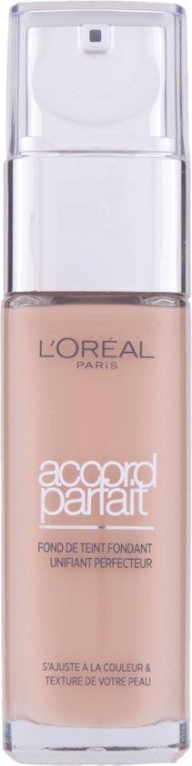 L'Oréal Paris Make-Up Designer Accord Parfait - 5.D/5.W Golden Sand - Foundation