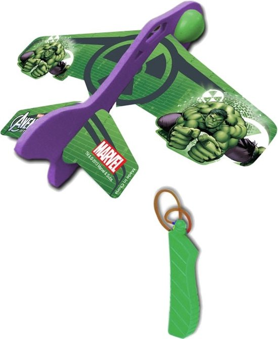 Marvel Katapult Vliegtuig Avengers: Hulk 12 Cm Groen