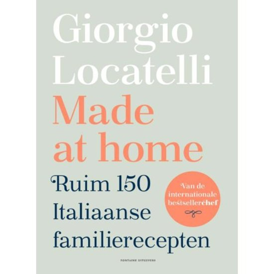 Boek cover Made at home van Giorgio Locatelli (Hardcover)