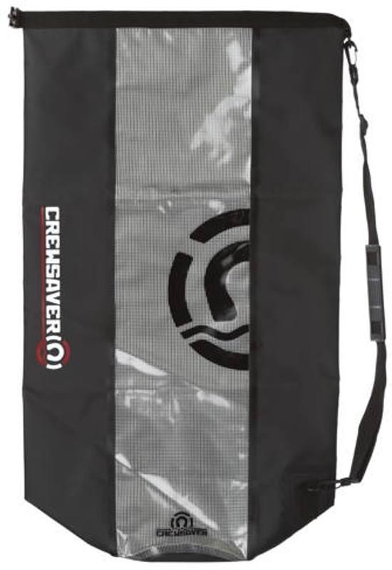 Crewsaver tas zwart/transparant 20 L